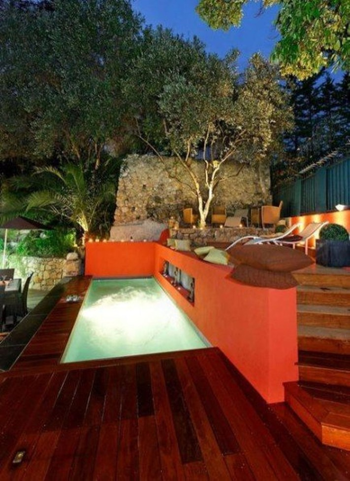 Simple Tiny Swimming Pool Ideas For Stunning Small Backyard 04