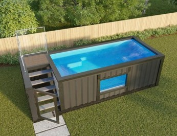 Simple Tiny Swimming Pool Ideas For Stunning Small Backyard 48