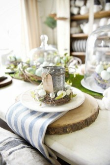 Superb Easter Table Decoration Ideas To Give Your Tablescape A Festive Vibe 14