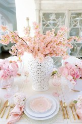 Superb Easter Table Decoration Ideas To Give Your Tablescape A Festive Vibe 28