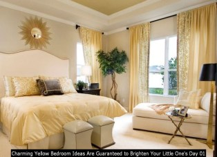 Charming Yellow Bedroom Ideas Are Guaranteed To Brighten Your Little One's Day 01