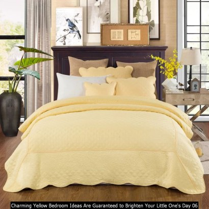 Charming Yellow Bedroom Ideas Are Guaranteed To Brighten Your Little One's Day 06