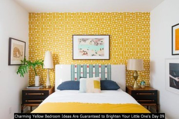 Charming Yellow Bedroom Ideas Are Guaranteed To Brighten Your Little One's Day 09