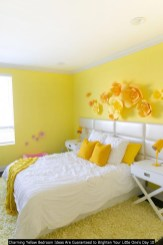 Charming Yellow Bedroom Ideas Are Guaranteed To Brighten Your Little One's Day 10