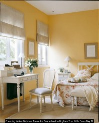 Charming Yellow Bedroom Ideas Are Guaranteed To Brighten Your Little One's Day 12