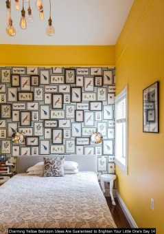 Charming Yellow Bedroom Ideas Are Guaranteed To Brighten Your Little One's Day 14