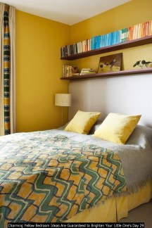 Charming Yellow Bedroom Ideas Are Guaranteed To Brighten Your Little One's Day 29