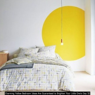 Charming Yellow Bedroom Ideas Are Guaranteed To Brighten Your Little One's Day 32