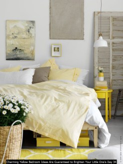 Charming Yellow Bedroom Ideas Are Guaranteed To Brighten Your Little One's Day 34