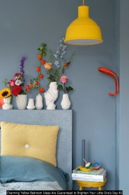 Charming Yellow Bedroom Ideas Are Guaranteed To Brighten Your Little One's Day 40