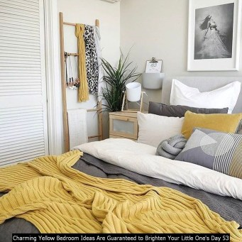Charming Yellow Bedroom Ideas Are Guaranteed To Brighten Your Little One's Day 53