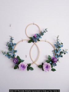 Clever DIY Minimalist Wreaths Guaranteed To Dress Up Your Home 22