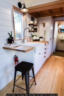 Comfy Modern Tiny House Ideas That Might Just Inspire You To Downsize 02