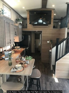 Comfy Modern Tiny House Ideas That Might Just Inspire You To Downsize 07