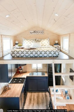 Comfy Modern Tiny House Ideas That Might Just Inspire You To Downsize 09