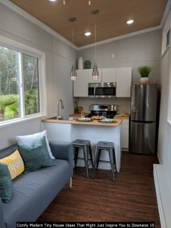 Comfy Modern Tiny House Ideas That Might Just Inspire You To Downsize 10