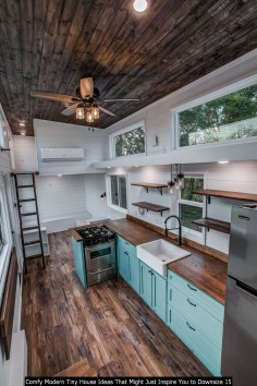 Comfy Modern Tiny House Ideas That Might Just Inspire You To Downsize 15