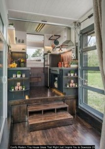 Comfy Modern Tiny House Ideas That Might Just Inspire You To Downsize 19
