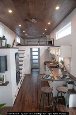 Comfy Modern Tiny House Ideas That Might Just Inspire You To Downsize 25