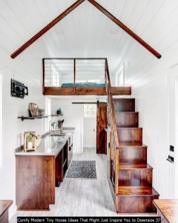 Comfy Modern Tiny House Ideas That Might Just Inspire You To Downsize 37