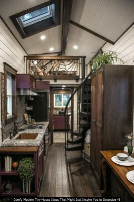 Comfy Modern Tiny House Ideas That Might Just Inspire You To Downsize 45