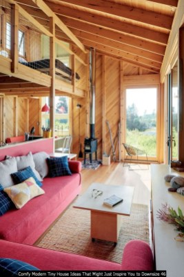 Comfy Modern Tiny House Ideas That Might Just Inspire You To Downsize 46