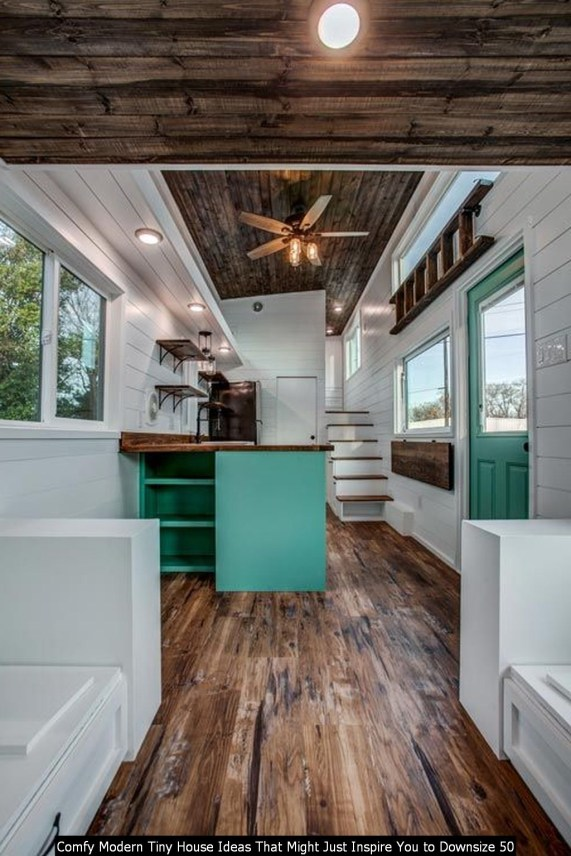 Comfy Modern Tiny House Ideas That Might Just Inspire You To Downsize 50