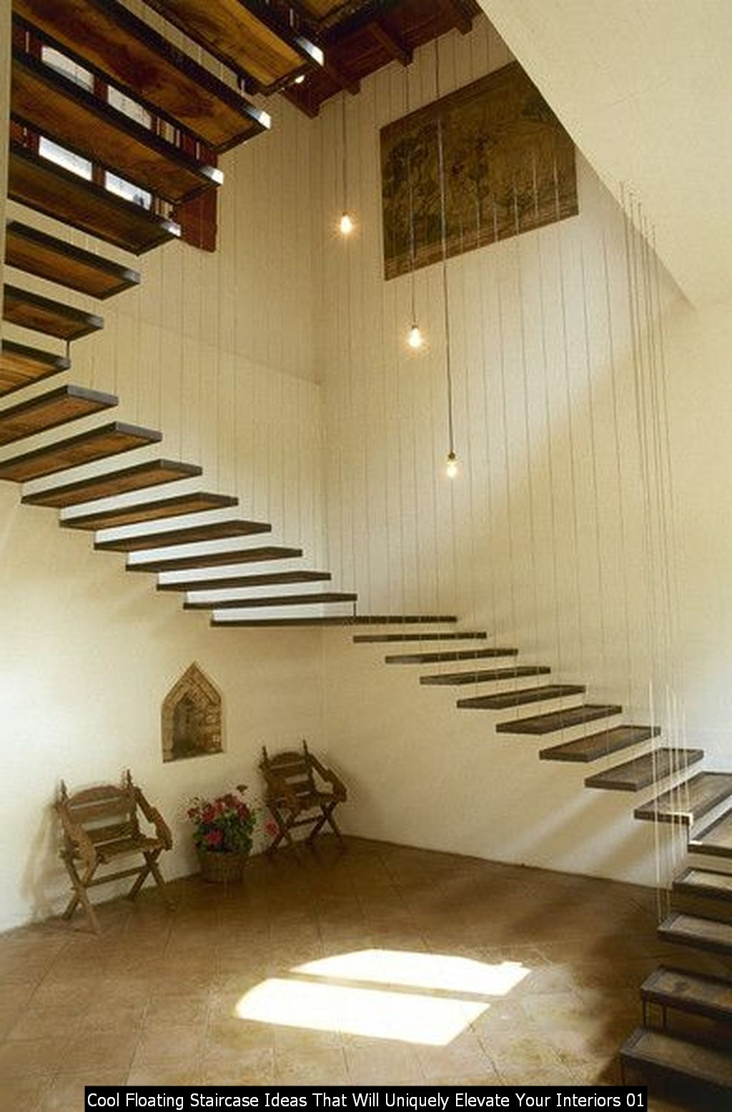 Cool Floating Staircase Ideas That Will Uniquely Elevate Your Interiors 01