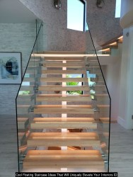 Cool Floating Staircase Ideas That Will Uniquely Elevate Your Interiors 02