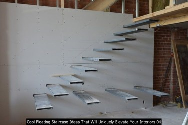 Cool Floating Staircase Ideas That Will Uniquely Elevate Your Interiors 04