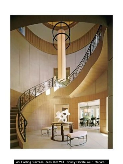 Cool Floating Staircase Ideas That Will Uniquely Elevate Your Interiors 10