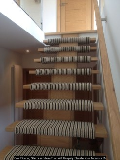 Cool Floating Staircase Ideas That Will Uniquely Elevate Your Interiors 16