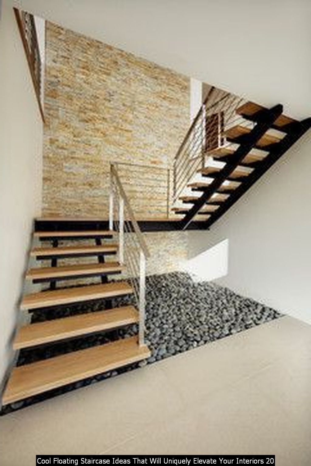 Cool Floating Staircase Ideas That Will Uniquely Elevate Your Interiors 20