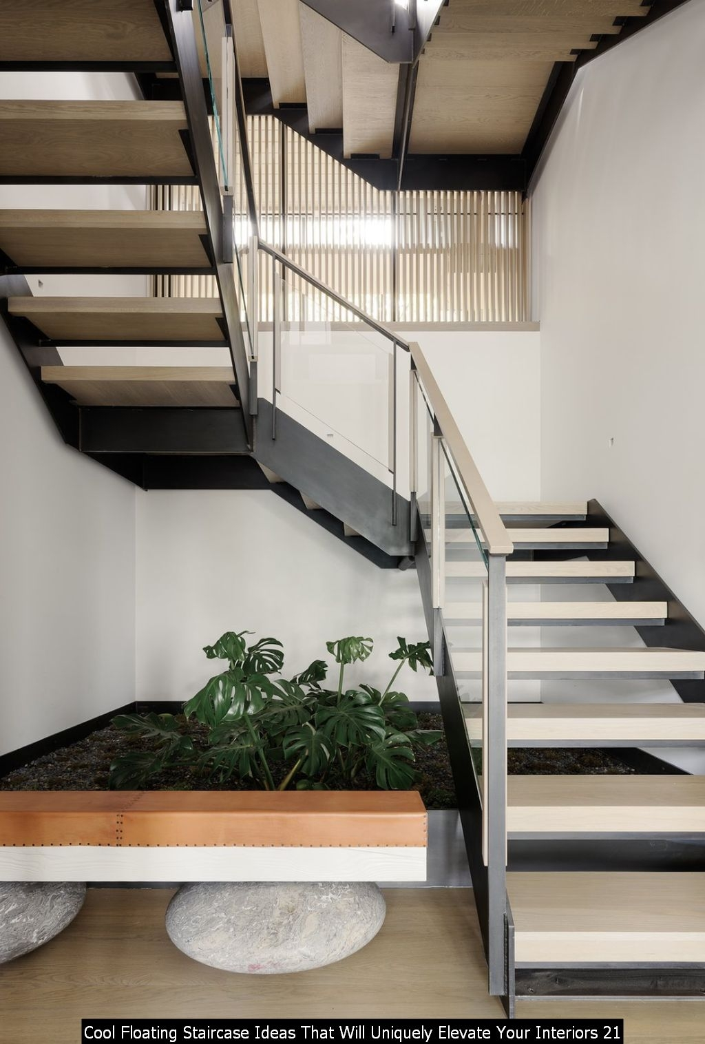 Cool Floating Staircase Ideas That Will Uniquely Elevate Your Interiors 21