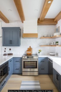 Fabulous Gray Kitchen And Wood In Different Models For All Tastes 20