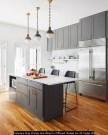 Fabulous Gray Kitchen And Wood In Different Models For All Tastes 30