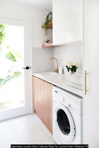 Fascinating Laundry Room Cabinets Ideas For Laundry Room Makeover 04