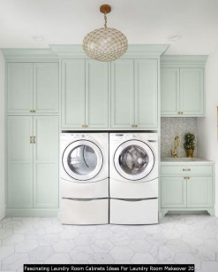 Fascinating Laundry Room Cabinets Ideas For Laundry Room Makeover 20