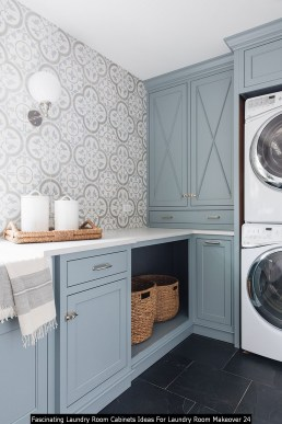 Fascinating Laundry Room Cabinets Ideas For Laundry Room Makeover 24