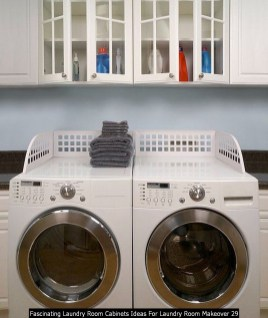 Fascinating Laundry Room Cabinets Ideas For Laundry Room Makeover 29