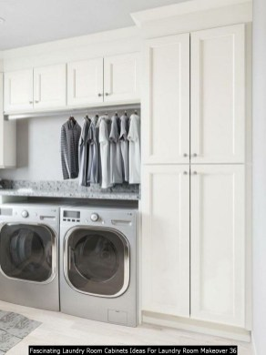 Fascinating Laundry Room Cabinets Ideas For Laundry Room Makeover 36
