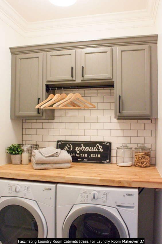 Fascinating Laundry Room Cabinets Ideas For Laundry Room Makeover 37