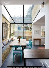 Gorgeous Glass Ceiling House Design Ideas To Get Natural Light 01