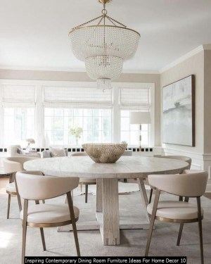 Inspiring Contemporary Dining Room Furniture Ideas For Home Decor 10