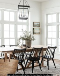 Inspiring Contemporary Dining Room Furniture Ideas For Home Decor 13