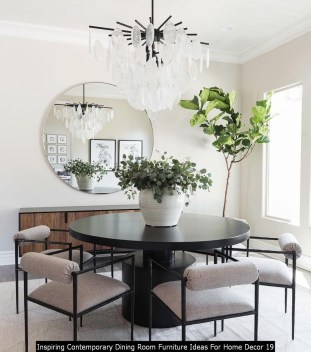 Inspiring Contemporary Dining Room Furniture Ideas For Home Decor 19