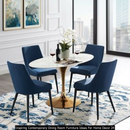 Inspiring Contemporary Dining Room Furniture Ideas For Home Decor 24