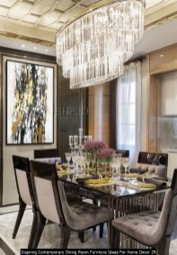 Inspiring Contemporary Dining Room Furniture Ideas For Home Decor 29