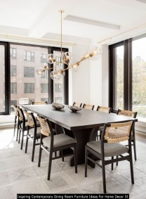 Inspiring Contemporary Dining Room Furniture Ideas For Home Decor 31
