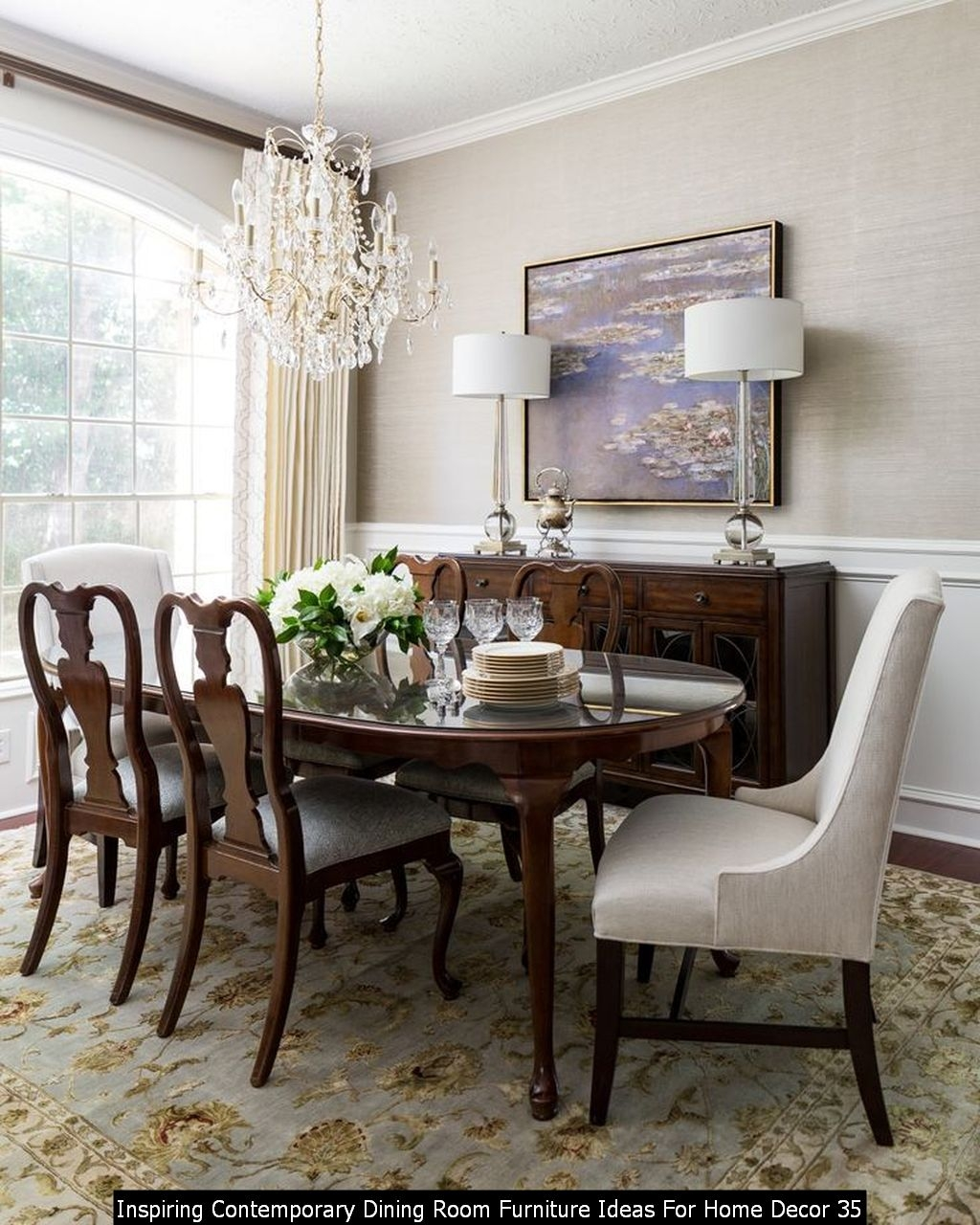 Inspiring Contemporary Dining Room Furniture Ideas For Home Decor 35